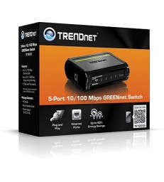 TRENDnet GREENnet 5 ports switch